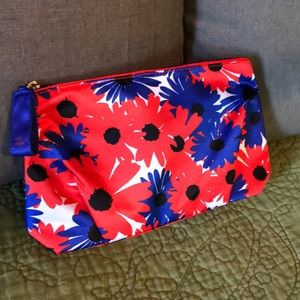 Handbags - Estee Lauder Daisy make up bag in red and blue
